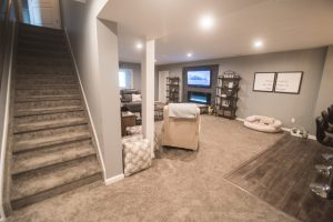 basement completed job in crestwood